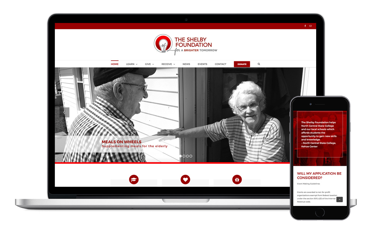 The Shelby Foundation website