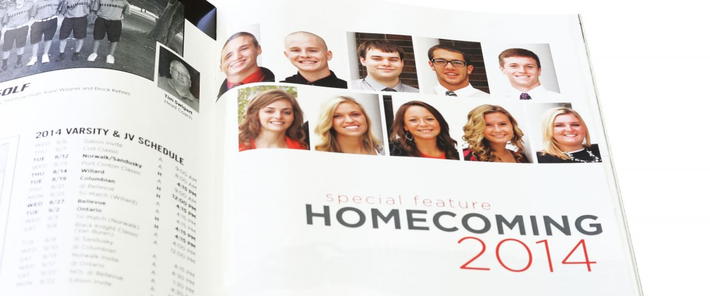 Homecoming Insert Cover