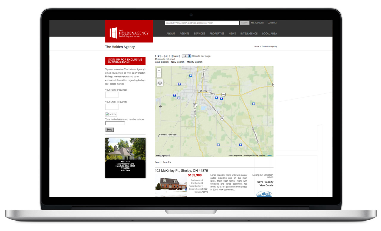 Holden-Agency-Home-Properties-Page
