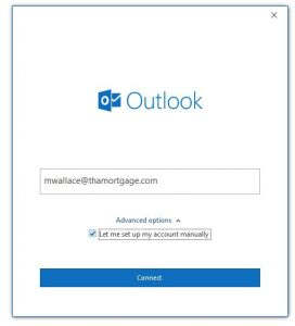 Outlook Step 2